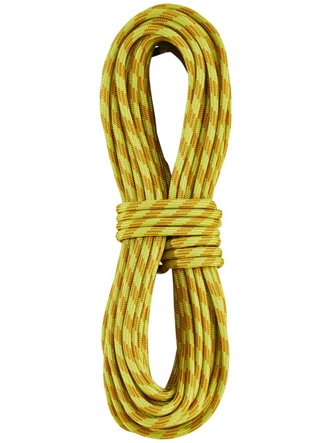 Edelrid Confidence - Corde d'escalade - 8mm 30m jaune/orange